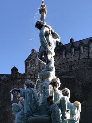 Ross Fountain Restoration, Princes Street Edinburgh
