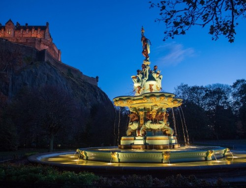 Ross Fountain Restoration, Princes Street