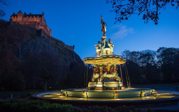 Ross Fountain Princes Street Edinburgh