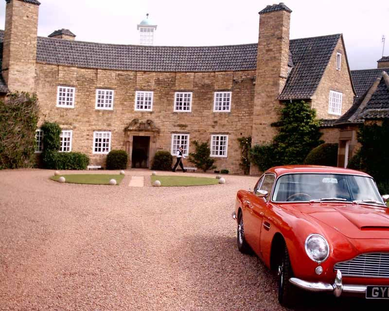 Grey Walls Gullane Hotel East Lothian Aston Martin