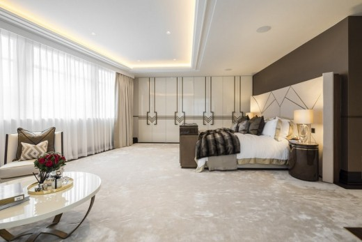 Art Deco Listed Refurbished Penthouse in Mayfair interior