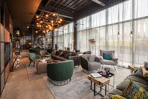 New Moxy Hotel Edinburgh Airport, Scottish Accommodation