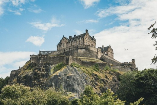 Edinburgh Castle Historic Buildings Given Modern Makeovers
