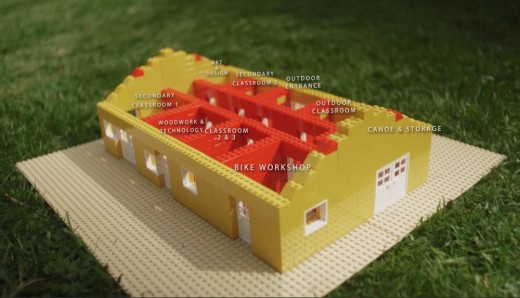 Harmeny School Balerno, West Lothian lego model