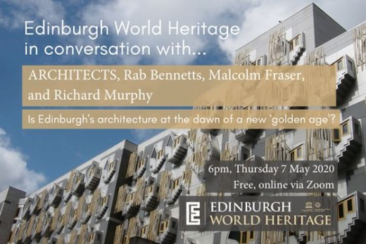 Edinburgh World Heritage in conversation with...architects event 2020
