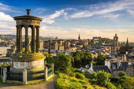 Calton Hill - People in the Places: Edinburgh Buildings