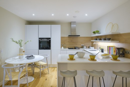 Canonmills Garden Edinburgh show home interior