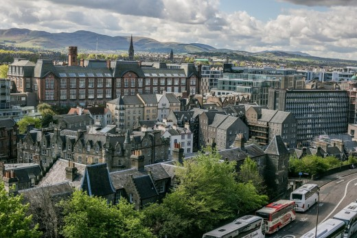 Luxury Townhouses in Edinburgh New Town