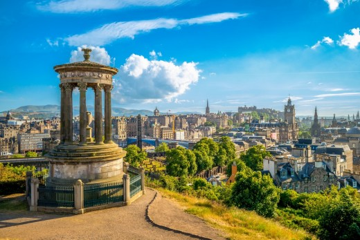 Edinburgh Scotland Calton Hill