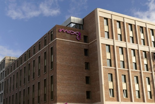 Moxy Hotel Fountainbridge Edinburgh