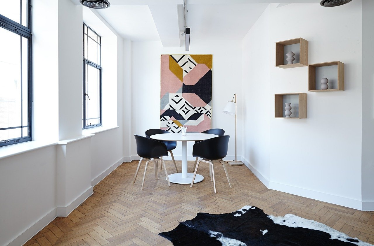 Ideas for a modern interior design chairs table