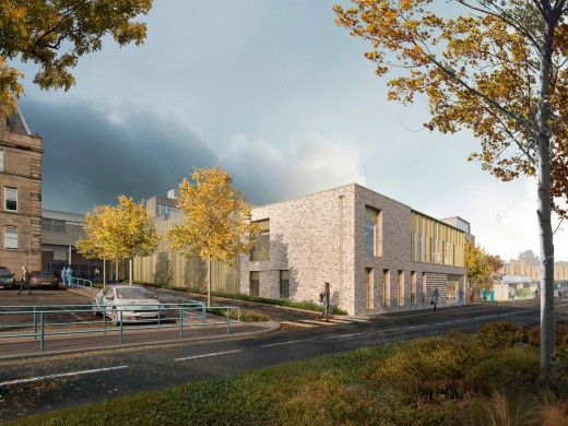 LINAC treatment facility at WGH Edinburgh