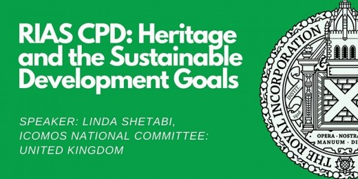 RIAS Lunchtime CPD: Heritage and the Sustainable Development Goals